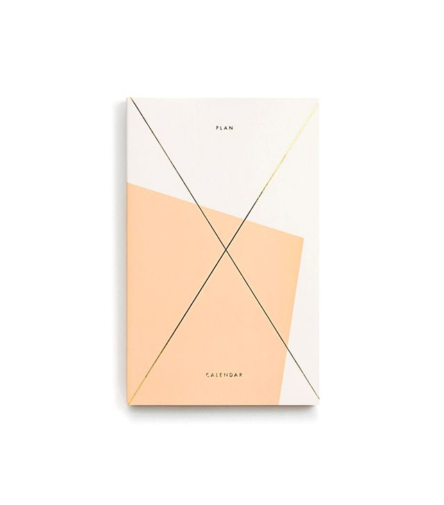 Julia Kostreva Gold Foil Any Year Planner