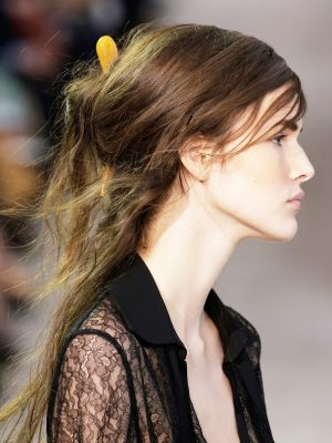Get the Look: The Windswept Half-Up 'Do at Michael Kors