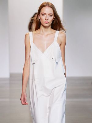 Calvin Klein Took the Slip Dress up a Notch at NYFW