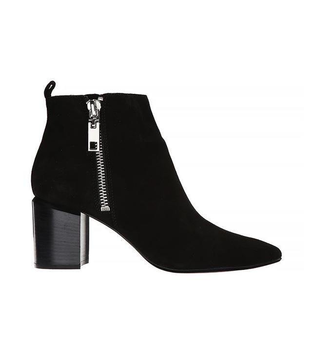 Dolce Vita Ginnee Black Suede Boots