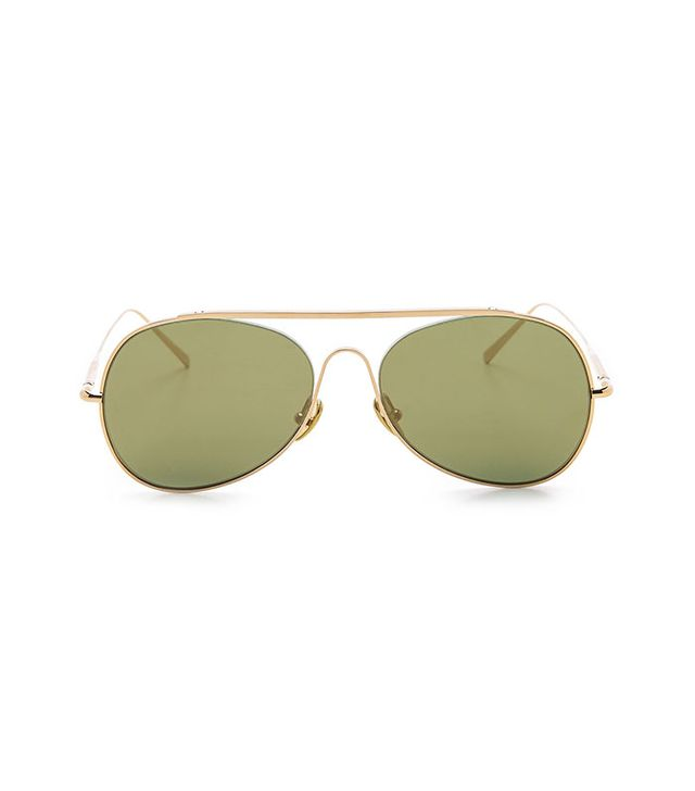 Acne Studios Large Aviator Sunglasses