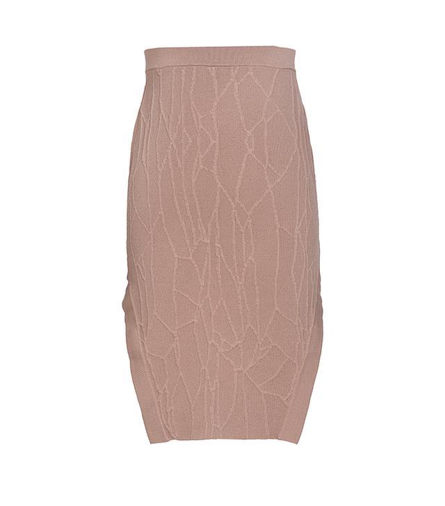 Jonathan Simkhai Wrap Spill Intarsia Skirt