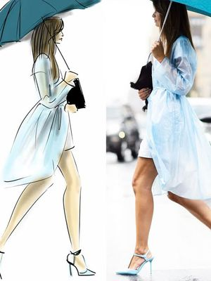 Our Favourite NYFW Street Style Moments, Illustrated
