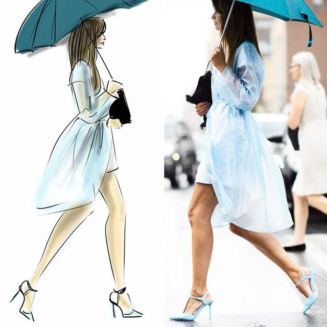 Our Favorite NYFW Street Style Moments, Illustrated