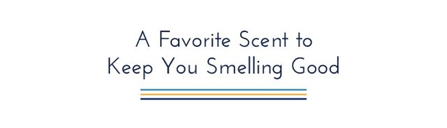 Fashion week is filled with super-tight quarters. There are lines and crowds everywhere. It's also hot this time of year, no matter where you are! I like to bring this scent with me wherever I...