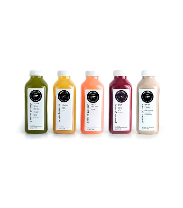Pressed Juicery Juice Sampler