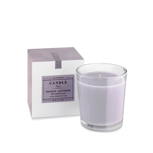 Williams-Sonoma Essential Oils Boxed Candle, French Lavender