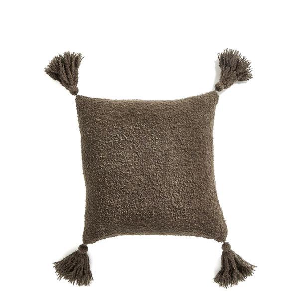 Nordstrom at Home Bouclé Tassel Pillow