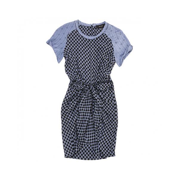 Isabel Marant Purple Silk Dress