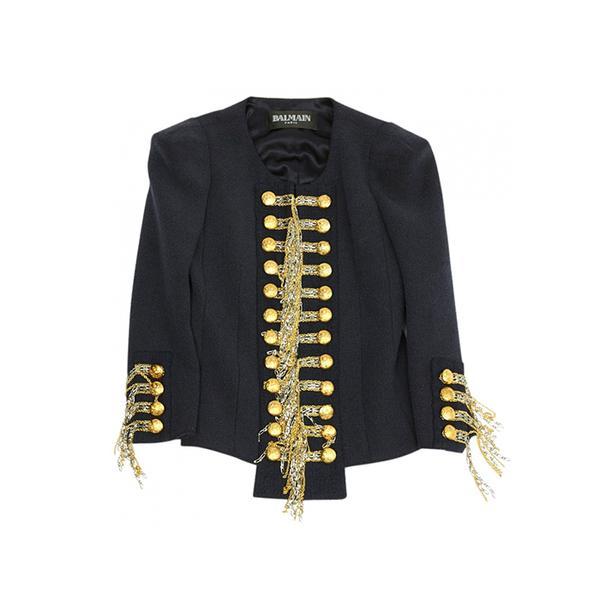 Balmain Blue Jacket