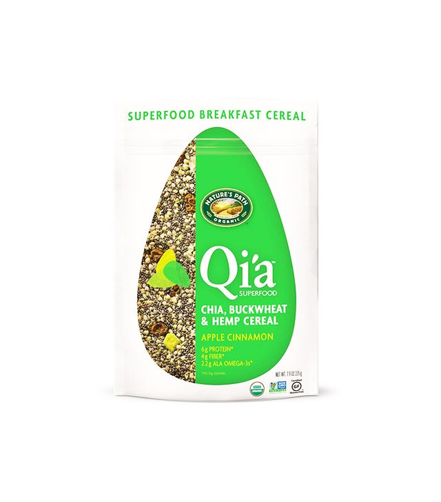 Nature's Path Qi'a Superfood Chia, Buckwheat & Hemp Cereal Apple Cinnamon