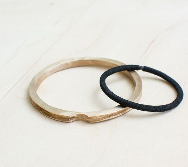 LD Jewelry Co. Wide Channel Band-It Bangle
