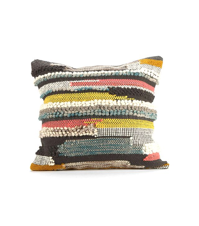 Urban Outfitters Hooked Stripe Pillow