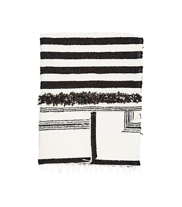 Madeline Weinrib Bouclé Moroccan Throw