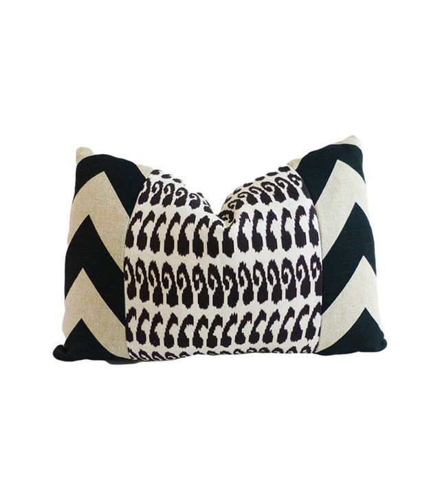 Kim Salmela Monaco Cotton Pillow
