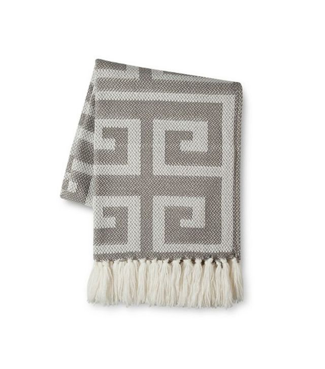Threshold Greek Key Throw