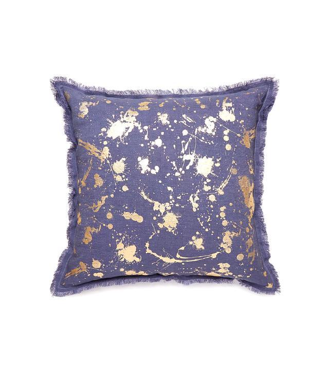 Jonathan Adler Gilded Drip Pillow