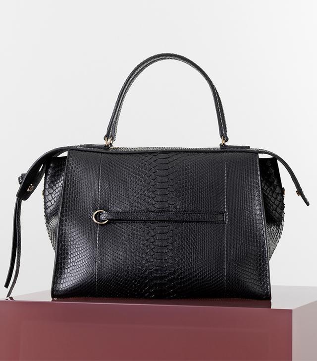 Céline Python Ring Bag