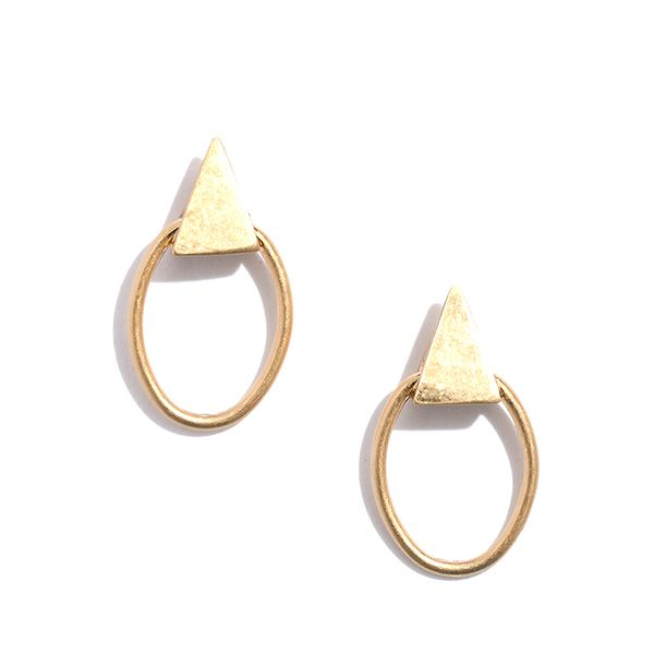 Madewell Hoopstud Earrings
