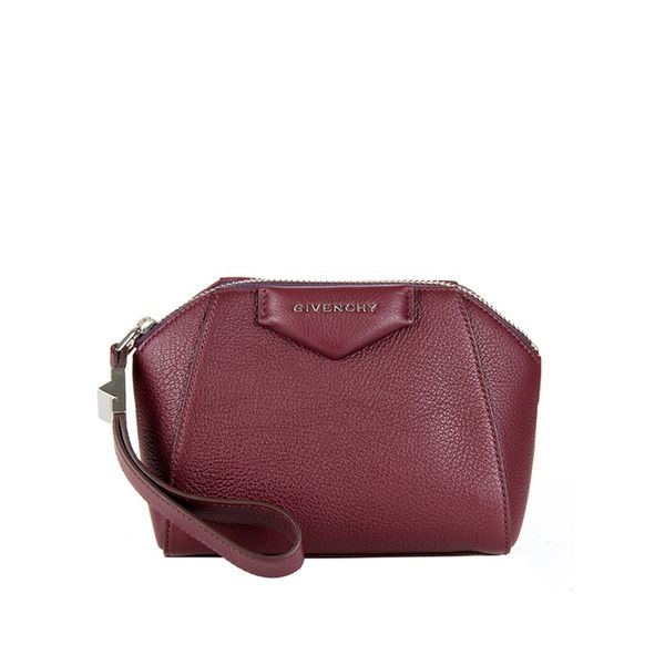 Givenchy Antigona Beauty Sugar-Leather Clutch