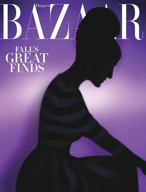 Can You Guess the Style Icon on the New Cover of Harper's Bazaar