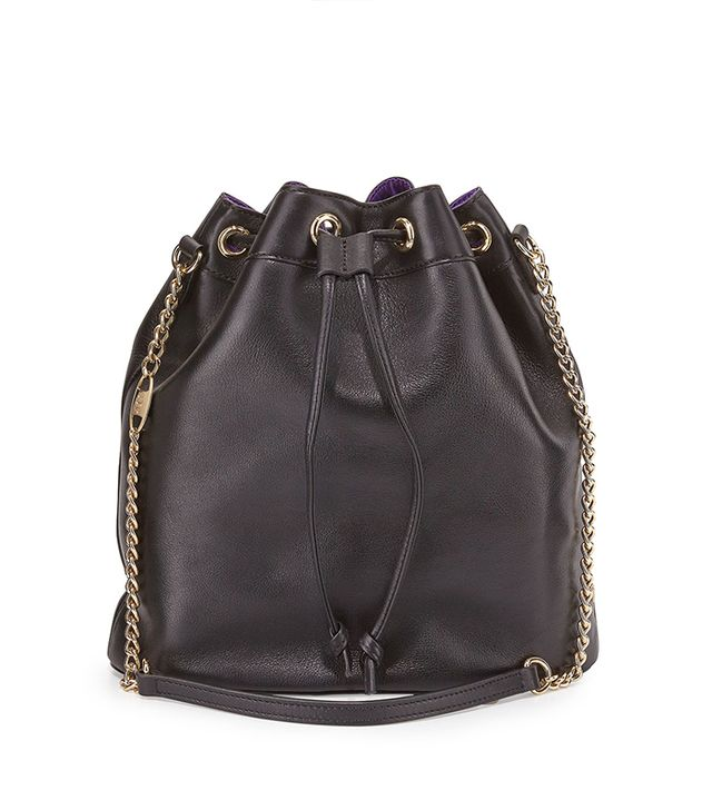 SJP by Sarah Jessica Parker Madison Leather Bucket Bag