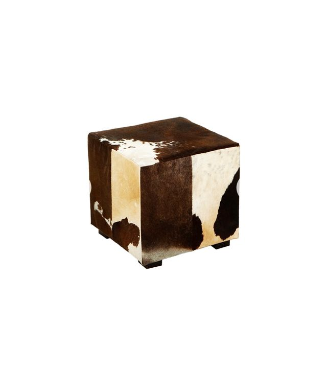 Flamant Home Interiors Azzo Leather Footstool
