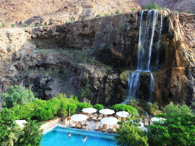 Ma'in Hot Springs, Jordan