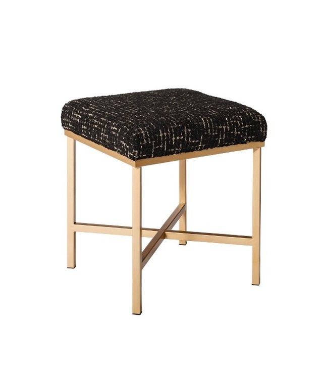 Target Plaid Upholstered Ottoman