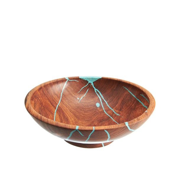 Treestump Woodcraft Small Mesquite Salad Bowl