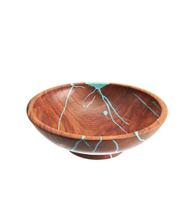 Treestump Woodcraft Small Mesquite Salad Bowl