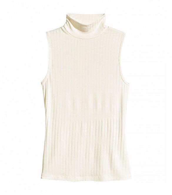 H&M Sleeveless Turtleneck Top