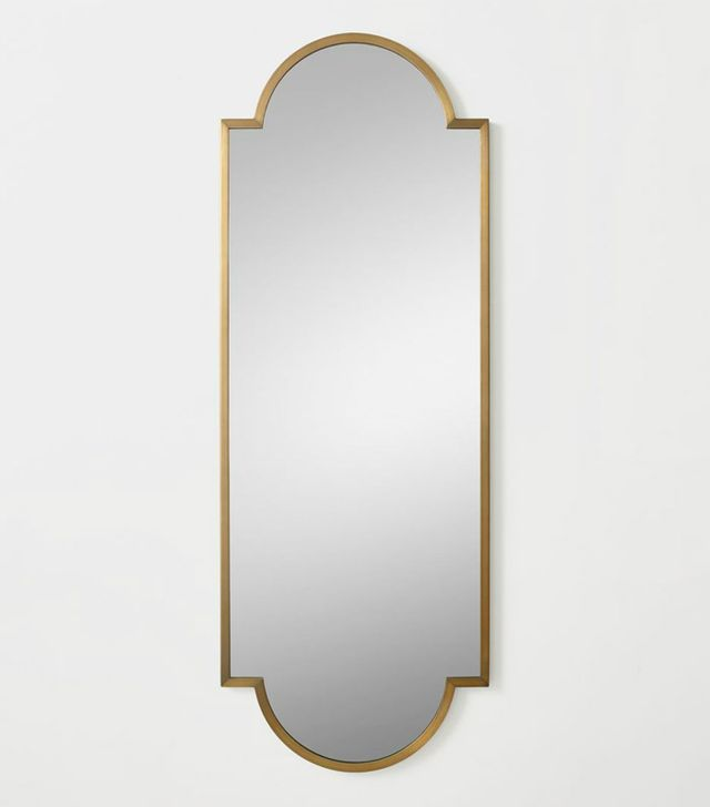 RH Teen Minimalist Metal-Wrapped Full Mirror