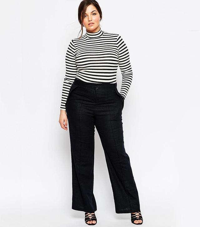 ASOS Curve Linen Pants