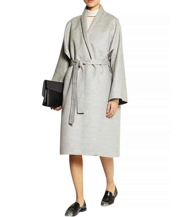 The Row Arnet-Brushed Wool Felt Coat
