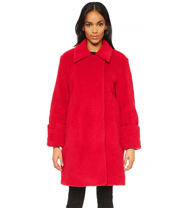 MM6 Collared Overcoat