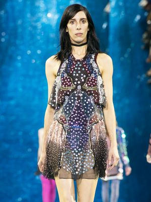 Go on a Cosmic Voyage With Mary Katrantzou for Spring 2016