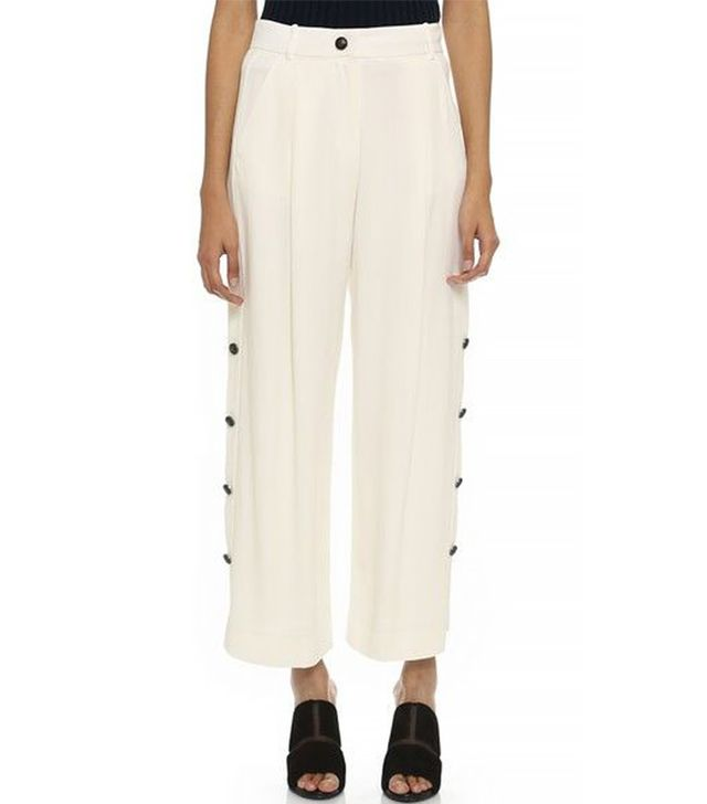 Maiyet Cropped Side Button Pants