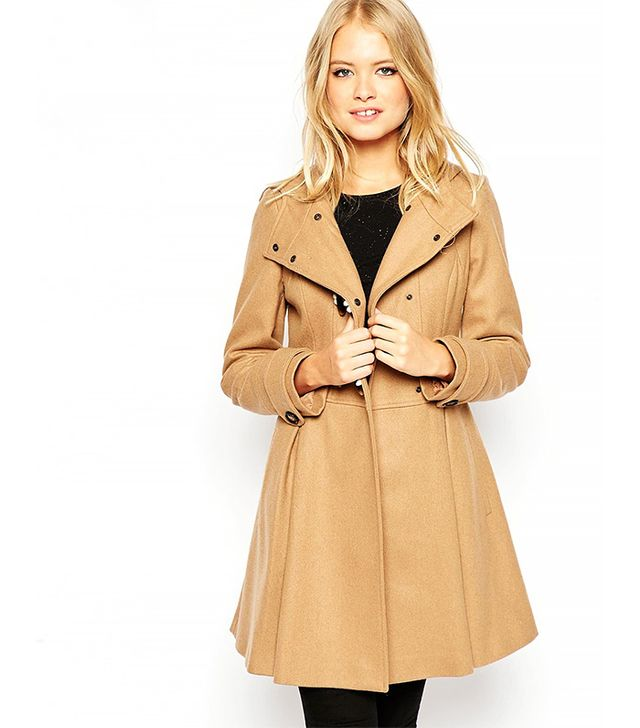ASOS Skirted Duffle Coat