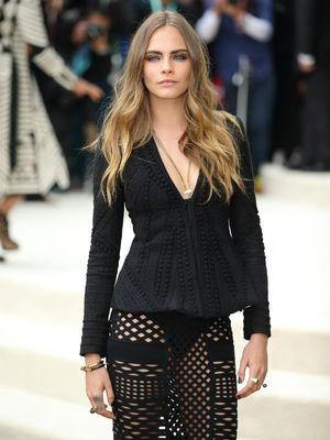 Cara Delevingne's Badass Approach to Date-Night Attire