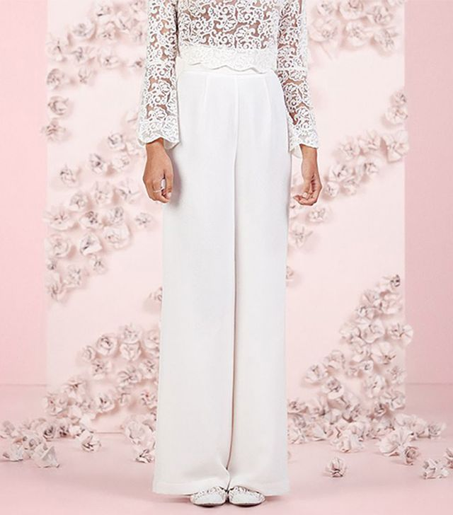 LC Lauren Conrad Runway Collection High Waist Wide-Leg Pants