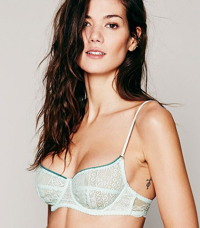 Free People Lace Underwire Bra
