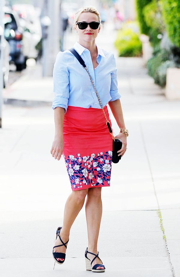 womens work outfits - Reese Witherspoon