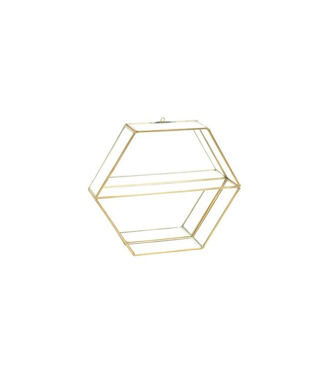 One Kings Lane Hexagon Hanging Wall Shelf