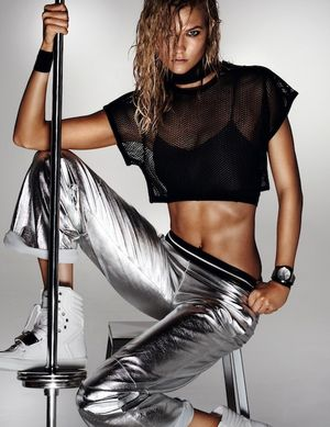 7 Cool Sporty Looks With a Metallic Touch