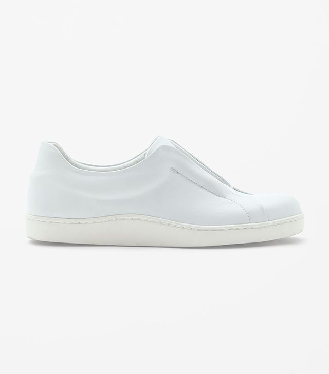 Cos Slip-On Leather Sneakers