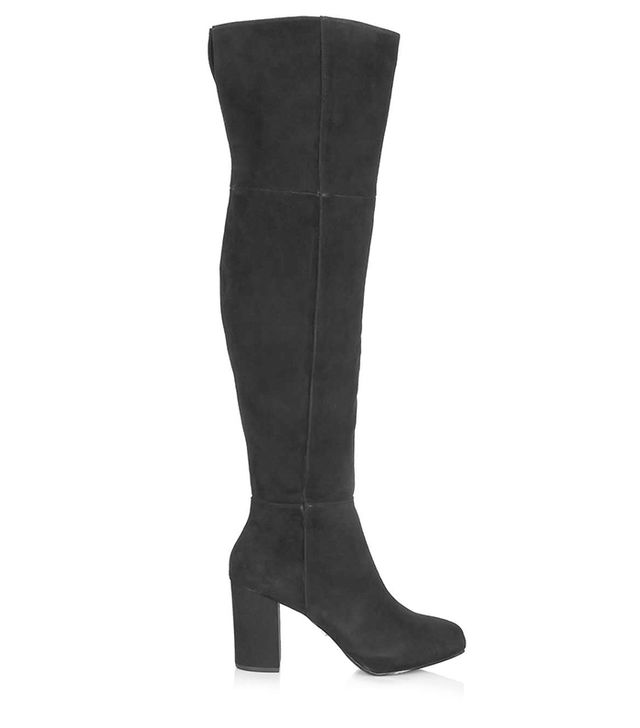 Topshop Count Over Knee Boots