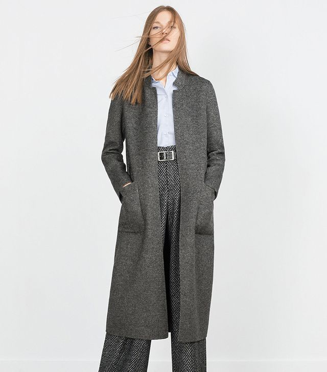 Zara Handmade Long Coat