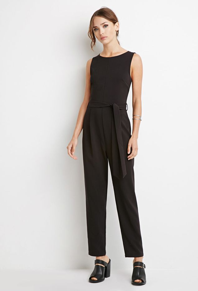 Forever 21 Self-Tie Jumpsuit