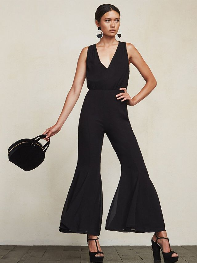 Reformation Sylvania Jumpsuit in Black